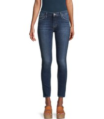 hudson women's mid-rise ankle skinny jeans - kempsey - size 30 (8-10)