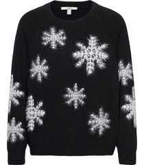 sweaters stickad tröja svart edc by esprit