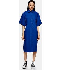 *cobalt blue bowling sleeve dress by topshop boutique - cobalt