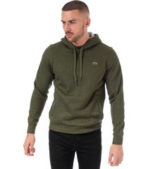 mens hooded fleece tennis sweatshirt