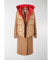 burberry paneled coat