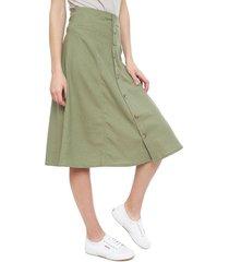 falda only verde - calce holgado