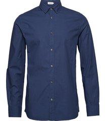 m. ben poplin shirt overhemd business blauw filippa k