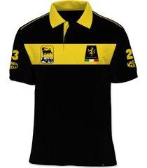 camisa polo fórmula retrô minardi 1991 - preto