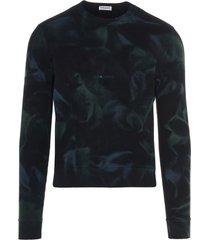 jungle tie-dye sweatshirt
