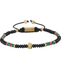 northskull macramè bracelet