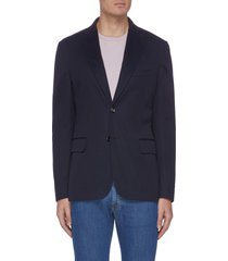 notch lapel tailored blazer