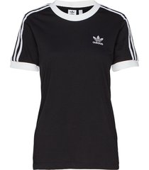 3 str tee t-shirts & tops short-sleeved svart adidas originals