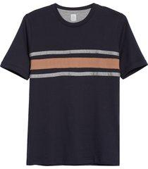 men's eleventy bar stripe slim fit t-shirt