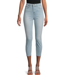 l'agence women's high-rise claudine cropped skinny jeans - powder - size 32 (10-12)