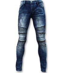 skinny jeans true rise biker skinny jeans manen - stretch -