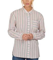 barbour holywell striped shirt