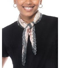 inc international concepts pleated printed square scarf, created for macy's