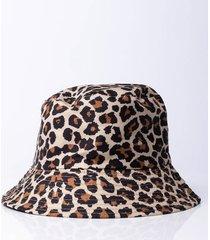akira cheetah bucket hat