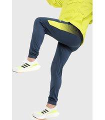 pantalón azul-amarillo adidas performance desogned 2 move activated
