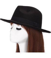 sombreros de jazz de otoño e invierno para hombres y mujeres a lo largo del