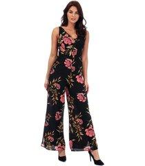 womens floral print jumpsuit