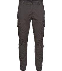 jjipaul jjflake akm 542 asphalt noos trousers cargo pants grå jack & j s