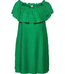 viplisra offshoulder dress/su dresses party dresses grön vila