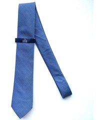 corbata azul oscar de la renta 23ay2100-180