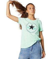 converse camiseta chuck taylor patch nova
