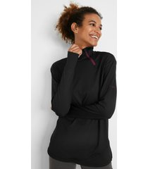sweater met gerecycled polyester, lange mouw