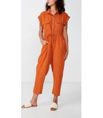 cotton on woven isabella utility jumpsuit