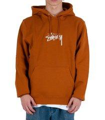 stock logo hoodie - caramel