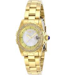 reloj angel invicta modelo 28444 dorado