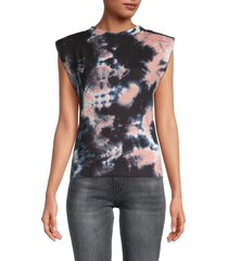 love ady women's trendy sleeveless top - leopard - size xs