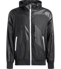 black windproof kenzo sport little x jacket