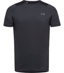 ua hg rush 2.0 ss t-shirts short-sleeved svart under armour