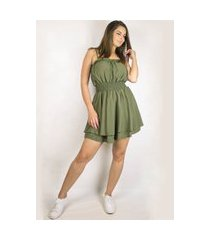 macaquinho dress code moda verde