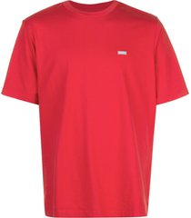 supreme small reflective box t-shirt - red