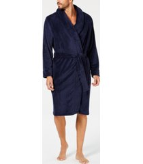 club room men's plush robe, created for macy's