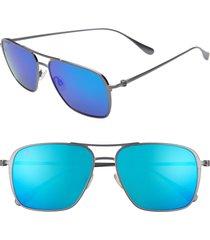 men's maui jim beaches polarizedplus2 57mm navigator sunglasses -