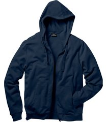 felpa con zip e cappuccio (blu) - bpc bonprix collection