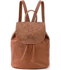 the sak small huntley leather backpack