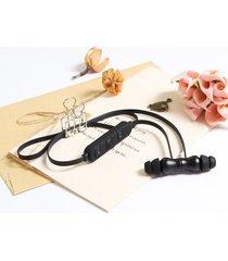 audífonos bluetooth estéreo hd manos libres deportivos, bt-kdk02 deporte audifonos bluetooth manos libres  auricular inalámbrico bajo estéreo auriculares magnéticos (negro)