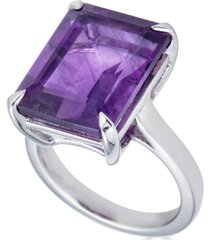 amethyst statement ring (11-1/2 ct. t.w.) in sterling silver