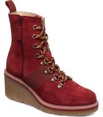 boots shoes boots ankle boots ankle boots with heel röd tamaris