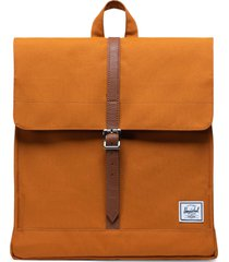 herschel supply co. city mid volume backpack - orange