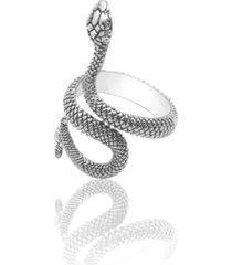 anillo unisex serpiente vintage punk aleacion ajustable