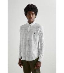 camisa grid maxi reserva