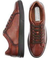 awearness kenneth cole awear-tech logan cognac suit sneakers