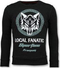 sweater local fanatic sportline wolf stoere z