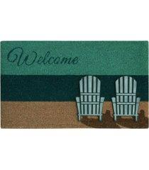 "bacova beach chairs 18"" x 30"" doormat bedding"