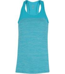 camiseta regata asics color tank - masculina - azul/azul claro