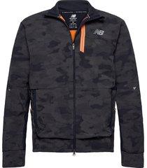 reflective impact run winter jacket outerwear sport jackets blå new balance