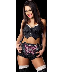 wwe  brie bella  diva belt on   2.5 x 3.5 fridge magnet